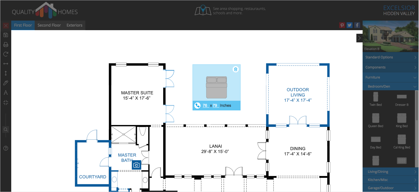 Interactive Floor Plans   Outhouse